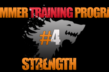 Asaltul Lupilor – Summer Training Program – Strength #4