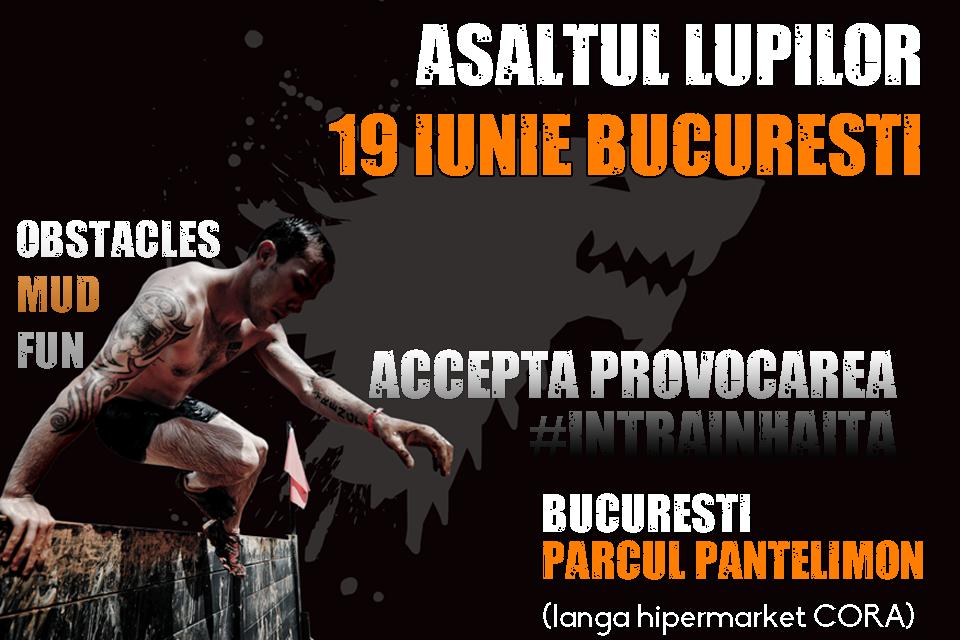 Asaltul Lupilor Bucuresti - parcul Pantelimon