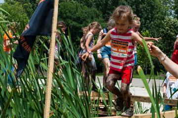 Asaltul Lupilor Junior – cursa copiilor – Parcul Pantelimon, Bucuresti