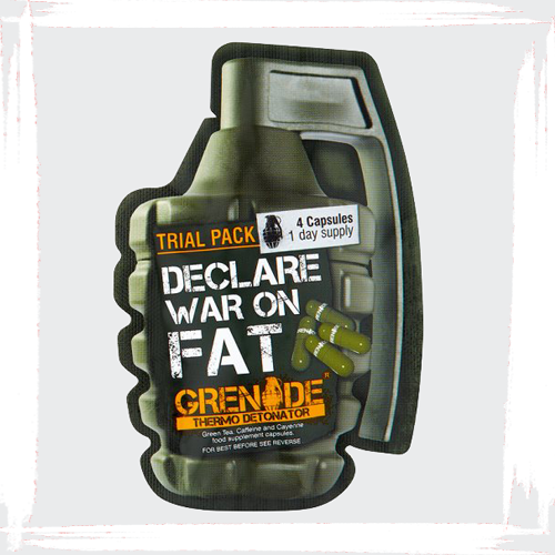 Grenade Thermo Detonator – Thermogenic samples