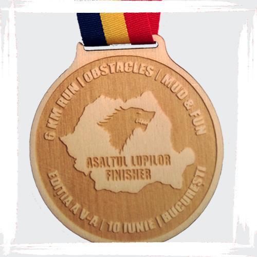 medalie oficiala asaltul lupilor fun