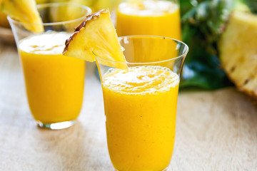 Fresh de banane, ananas si mango