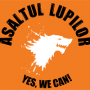 Steag oficial Asaltul Lupilor Yes, We CAN! (orange)
