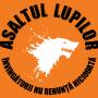 Steag oficial Asaltul Lupilor Invingatorii nu renunta niciodata (orange)