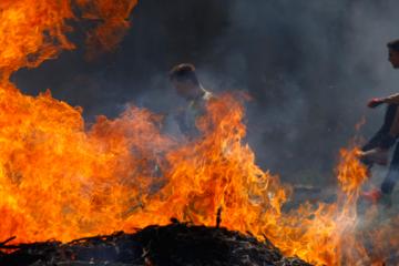 Obstacol Human BBQ