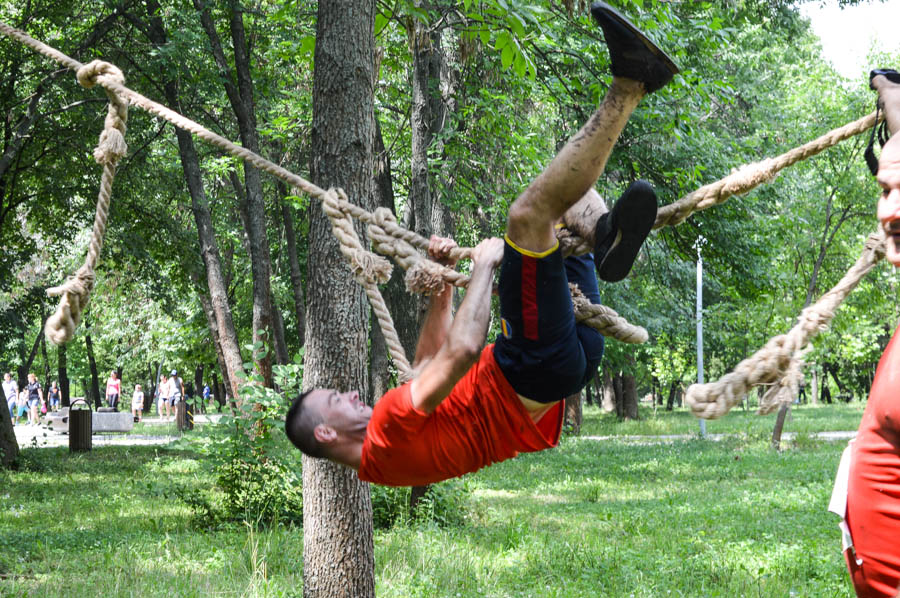 Obstacol Tarzan