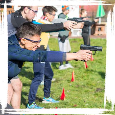 pistol shooting training