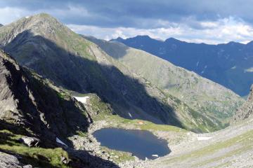 Călţun – lacul de cleştar din Munţii Făgăraş