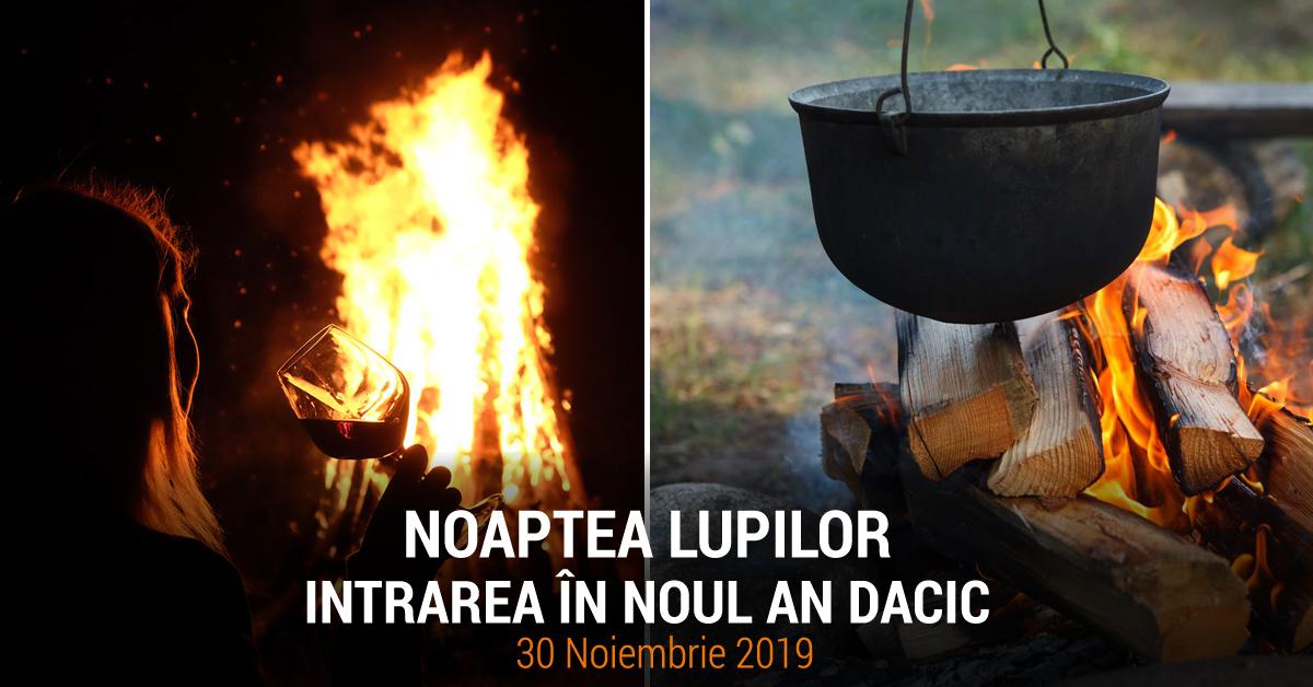 NOAPTEA LUPILOR – Intrarea în Noul An Dacic